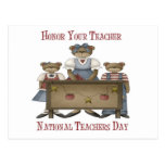 Honor Your Teacher National Teachers Day Post Card