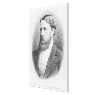 Honorable derecho el marqués de Hartington Impresiones En Lienzo Estiradas