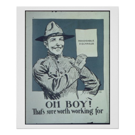 Honorable_Discharge._Oh_Propaganda Poster