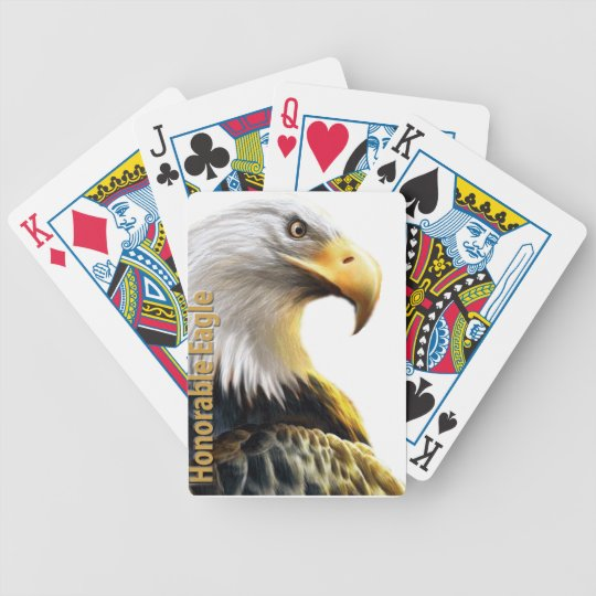 Honorable Eagle Bicycle Playing Cards