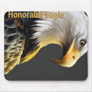 Honorable Eagle Mouse Pad