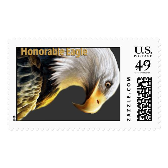 Honorable Eagle Stamp