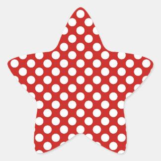 Honorable sano brillante afirmativo pegatina en forma de estrella