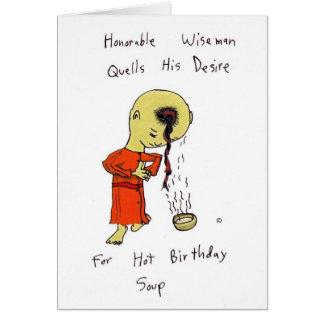 Honorable Wiseman Birthday Card