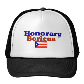 honorary boricua trucker hat