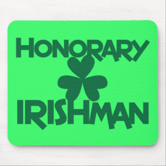 HONORARY IRISHMAN MOUSE PAD