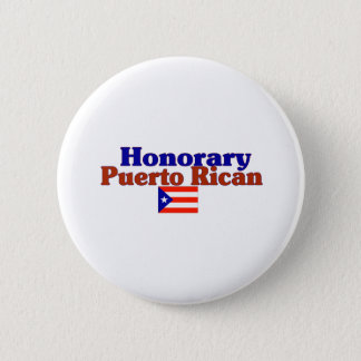 honorary puerto rican pinback button