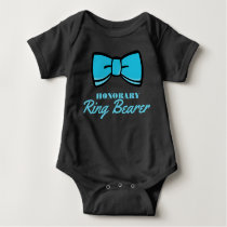 Honorary Ring Bearer Blue Baby Bodysuit