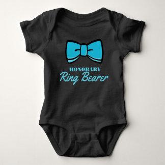 Honorary Ring Bearer Blue Baby Bodysuit