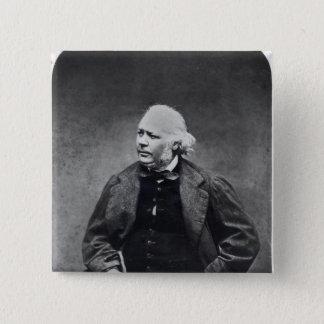 Honore Daumier  c.1864 Pinback Button