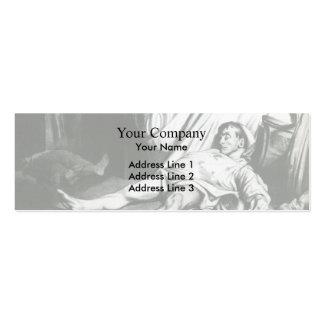 Honore Daumier Calle de Transnonain Tarjeta De Visita