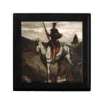 Honore Daumier - Don Quijote en las montañas Caja De Regalo