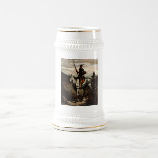 Honore Daumier - Don Quixote in the Mountains Beer Stein