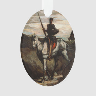 Honore Daumier - Don Quixote in the Mountains Ornament