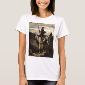 Honore Daumier - Don Quixote in the Mountains T-Shirt