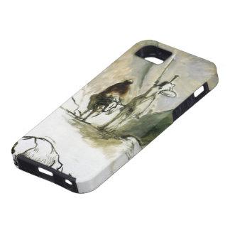 Honore Daumier- Don Quixote, Sancho Pansa iPhone SE/5/5s Case