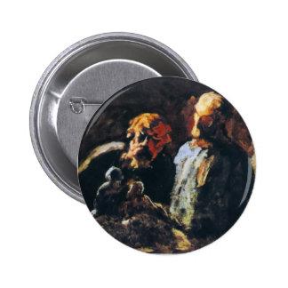Honore Daumier- dos escultores Pin
