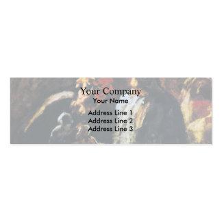 Honore Daumier- dos escultores Tarjetas De Visita