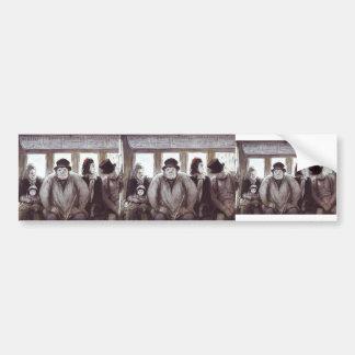 Honore Daumier- en el Omnibus Etiqueta De Parachoque