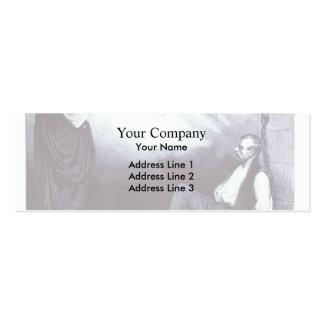 Honore Daumier Galilea moderno Tarjeta Personal