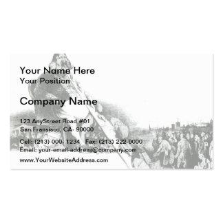 Honore Daumier Gargantua Business Card