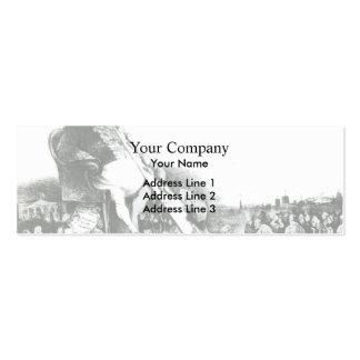 Honore Daumier Gargantua Business Cards