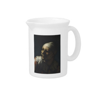 Honore Daumier- Head of Pasquin Beverage Pitchers