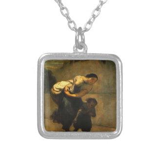 Honore Daumier- la carga (la lavandera) Colgante