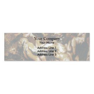 Honore Daumier La intoxicación de Silène Tarjeta De Visita