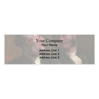 Honore Daumier- los abogados Plantillas De Tarjetas De Visita