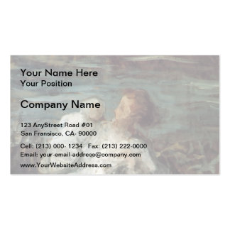 Honore Daumier- Mother with Child Business Card Templates