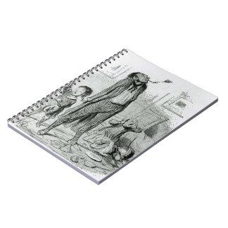 Honore Daumier: Poeta que compone una égloga clási Libros De Apuntes Con Espiral