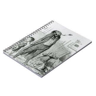 Honore Daumier: Poeta que compone una égloga clási Libros De Apuntes