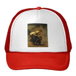 Honore Daumier- The Burden (The Laundress) Trucker Hat