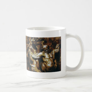 Honore Daumier: The Intoxication of Silène Coffee Mugs