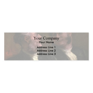 Honore Daumier- The Lawyers Business Card Template