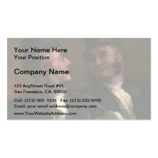 Honore Daumier- The Lawyers Double-Sided Standard Business Cards (Pack Of 100)