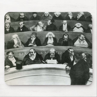 Honore Daumier: The Legislative Belly Mouse Pad