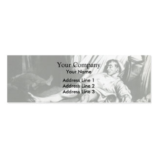 Honore Daumier Transnonain Street Business Card Template