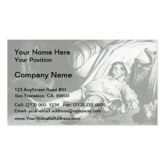 Honore Daumier Transnonain Street Business Card