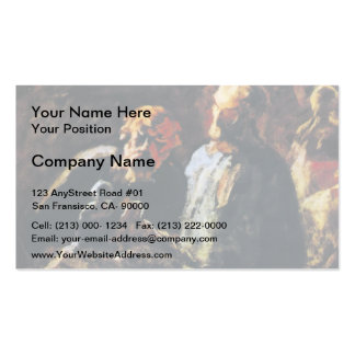 Honore Daumier- Two Sculptors Double-Sided Standard Business Cards (Pack Of 100)