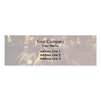 Honore Daumier- un carro de la tercera clase Tarjeta De Visita