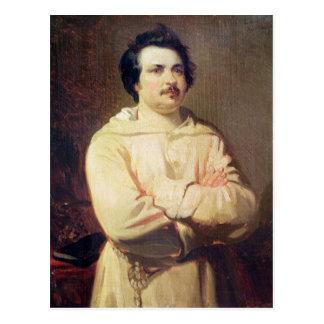 Honore de Balzac en el hábito de su monje, 1829 Tarjetas Postales