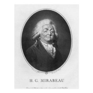 Honore Gabriel Riqueti, Comte de Mirabeau Postales