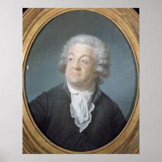 Honore Gabriel Riqueti  Count of Mirabeau, 1789 Poster