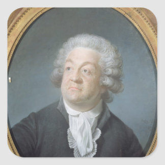 Honore Gabriel Riqueti  Count of Mirabeau, 1789 Square Sticker