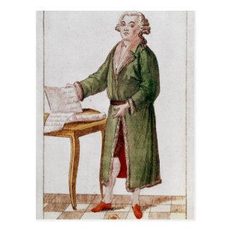 Honore Gabriel Riqueti Mirabeau Postcard