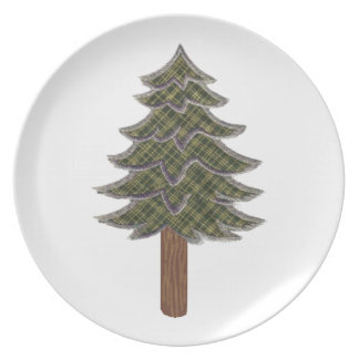HONORED AND RESPECTED DINNER PLATE