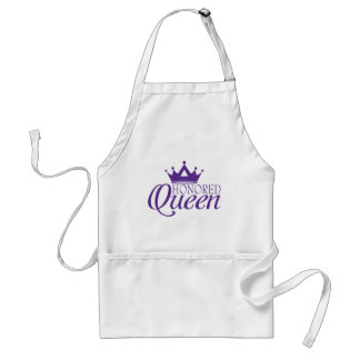 Honored Queen Adult Apron