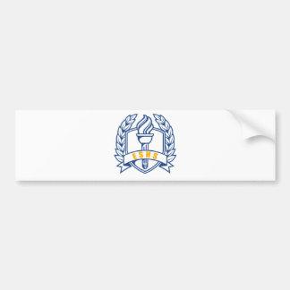 Honores de ESHS, escolar, símbolo Pegatina Para Auto